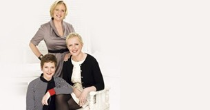 Deborah Meaden and her sisters